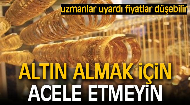 Altın piyasası uzmanından açıklama: Gram 350 liraya düşebilir!