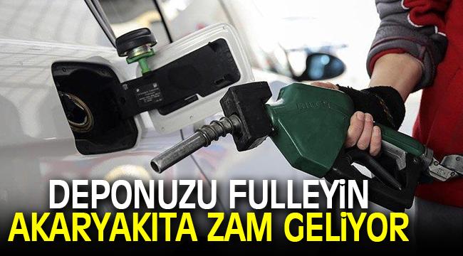 Benzin ve motorine büyük zam geliyor!