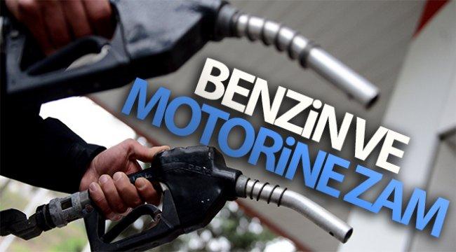 Benzin ve motorine zam! 8 Haziran 2020