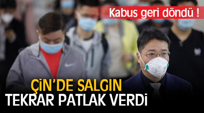 Çin'de koronavirüs salgını tekrar patlak verdi!