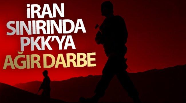 İran sınırında PKK'ya ağır darbe