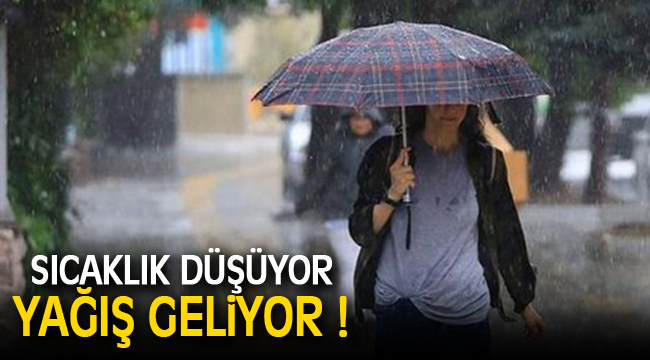Karaman'a yağmur yağışı geliyor