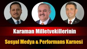 Karaman Milletvekillerinin Performans ve Sosyal Medya Karnesi