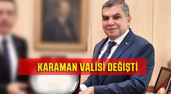 Karaman Valisi Değişti Mehmet Alpaslan Işık oldu