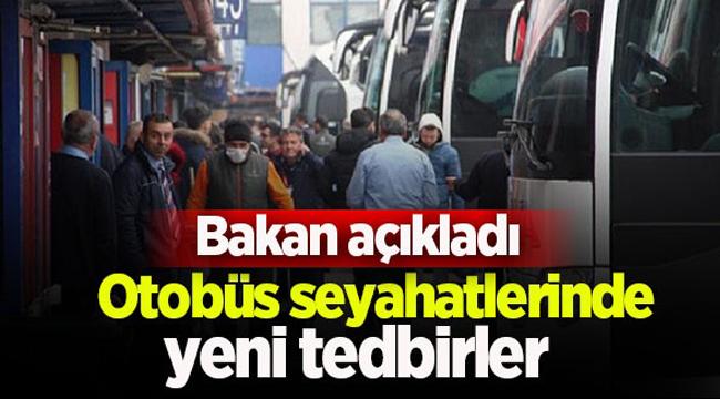 Otobüs seyahatlerinde yeni dönem! Resmi Gazete'de yayımlandı