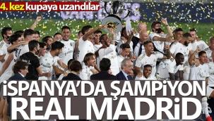 İspanya'da şampiyon Real Madrid!
