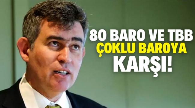"Metin Feyzioğlu: ""TBB ve tüm barolar çoklu baroya karşıdır"""