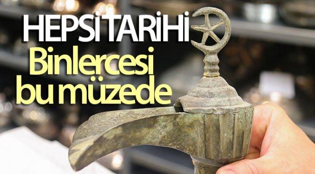 Ayasofya'nın musluklarının da bulunduğu binlerce tarihi musluk bu müzede