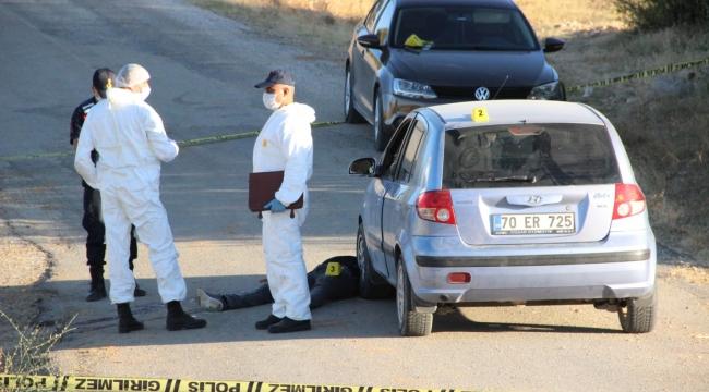 Karaman'da iki çocuk babası adam, bir kadın tarafından tüfekle vurularak öldürüldü