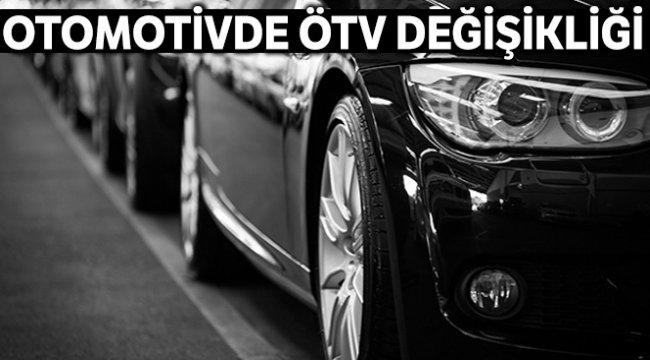 Otomotivde ÖTV değişikliği