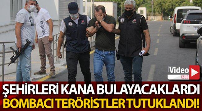 Şehirleri kana bulayacak bombacı tutuklandı