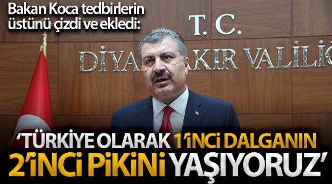 Sağlık Bakanı Koca'dan Diyarbakır'da flaş açıklamalar