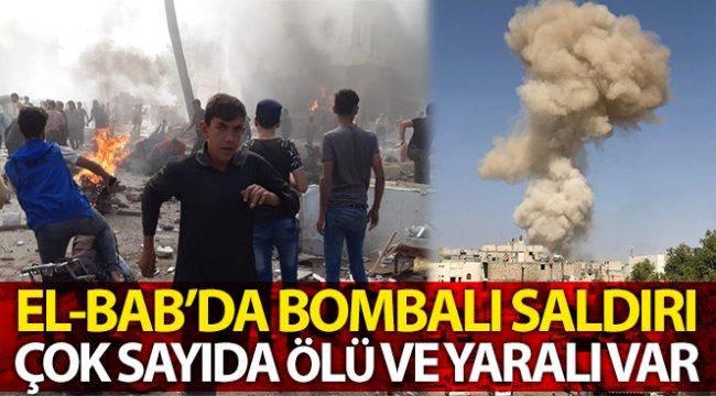 El-Bab'da bombalı saldırı, çok sayıda ölü ve yaralılar var