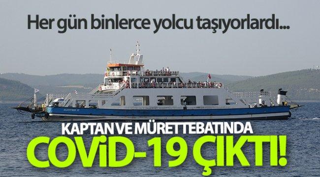 Her gün binlerce yolcu taşıyan gemilerin mürettebatları korona çıktı...