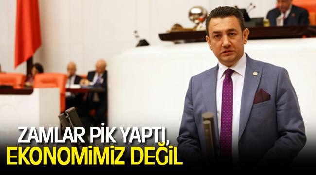 ZAMLAR PİK YAPTI, EKONOMİMİZ DEĞİL