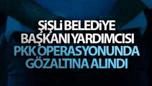 Şişli Belediye Başkanı Yardımcısı PKK operasyonunda gözaltına alındı