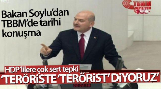 Bakan Soylu: 'Teröriste 'terörist' diyoruz'