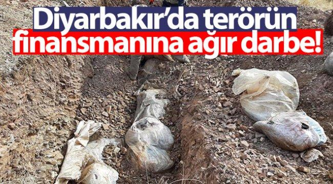 Diyarbakır'da terörün finansmanına ağır darbe