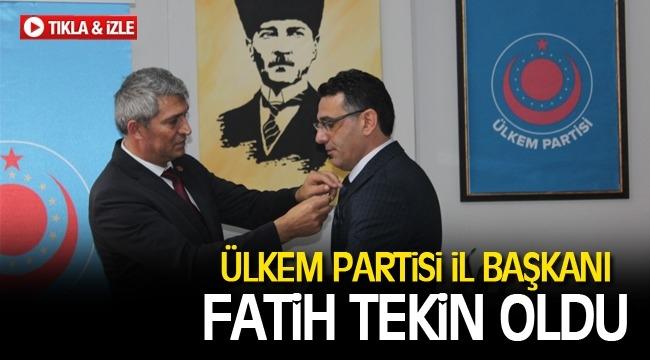 ÜLKEM Partisi Genel Başkanı Neşet Doğan, Karaman'a gelerek İl Başkanını açıkladı.