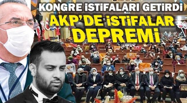 AKP KONGRESİ İSTİFALARI GETİRDİ!