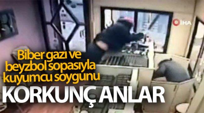 Ankara'da biber gazı ve beyzbol sopasıyla kuyumcu soyan 2 kişi yakalandı