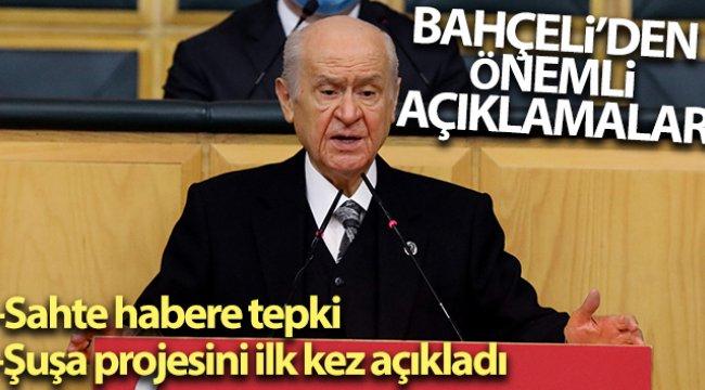 MHP Lideri Bahçeli'den Parodi  gerçek diye aktaran gazeteciye tepki