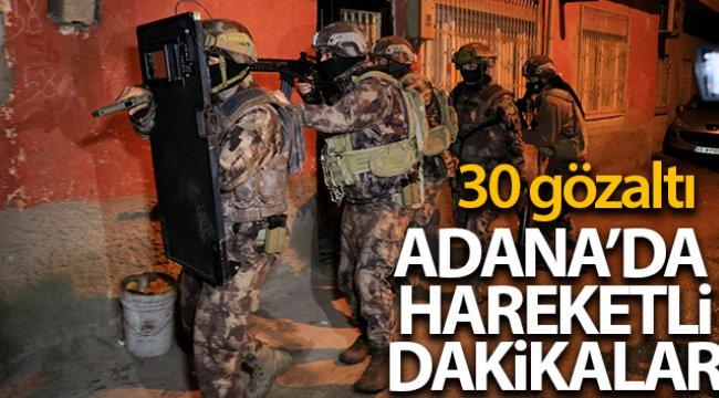 Adana'da PKK/KCK operasyonu: 30 gözaltı kararı