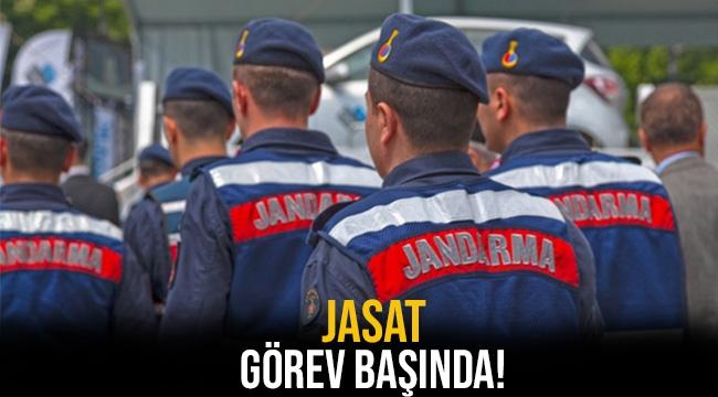 JASAT görev başında!