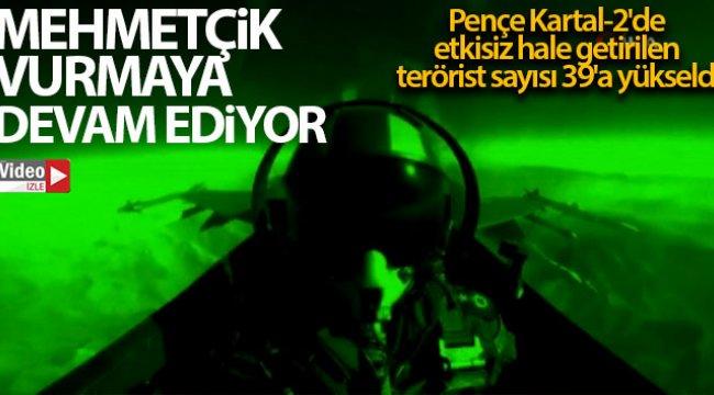 Pençe Kartal-2'de etkisiz hale getirilen terörist sayısı 42'ye yükseldi