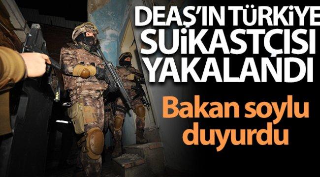 Terör örgütü DEAŞ'ın Türkiye suikastçısı Yalova'da yakalandı