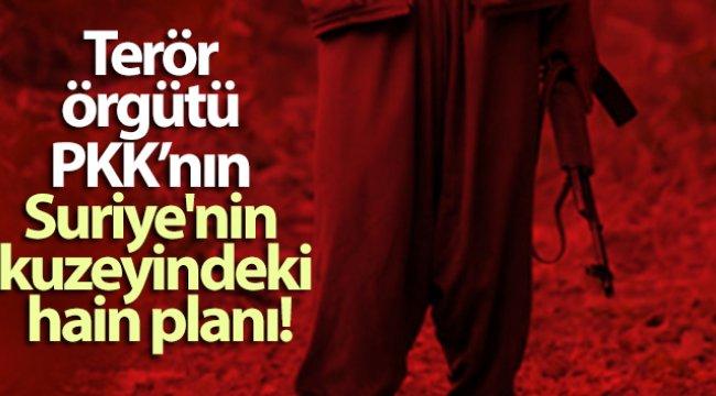 Terör örgütü PKK'nın Suriye'nin kuzeyindeki hain planı