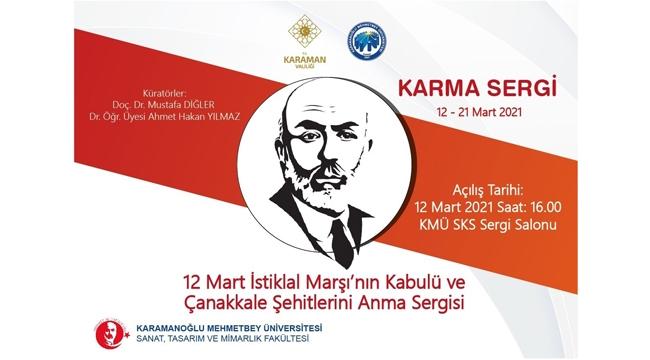12 Mart İstiklal Marşının Kabulü Ve Çanakkale Şehitleri Anma Sergisi Akif Dizeleri İle Kutlandı
