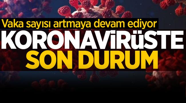 19 Mart koronavirüs tablosu açıklandı