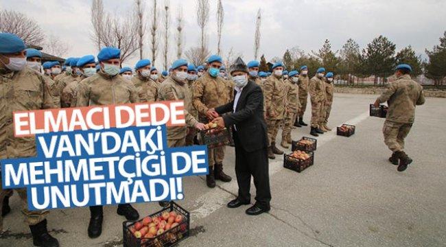 Elmacı Dede'den kahraman komandolara ikram