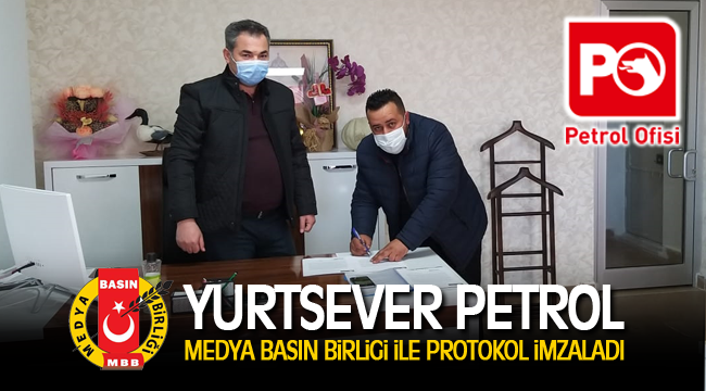 Karaman Medya Basın Birliği ile Yurtsever Petrol anlaşma yaptılar