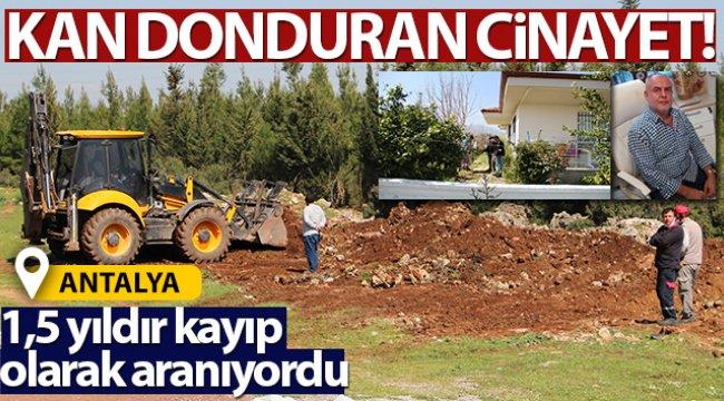 Antalya'da kan donduran cinayet!