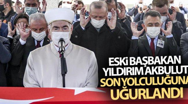 Eski Başbakan Yıldırım Akbulut son yolculuğuna uğurlanıyor