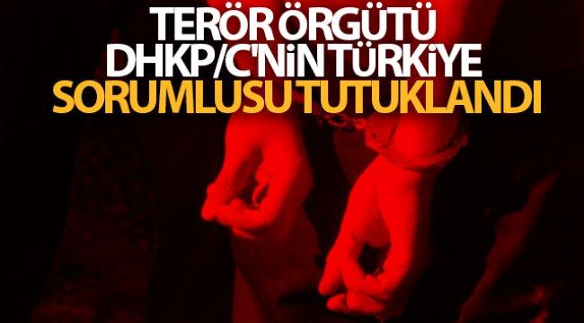 Terör örgütü DHKP/C'nin Türkiye sorumlusu tutuklandı