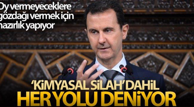 Esad, seçilebilmek için 'kimyasal silah' dahil her yolu deniyor