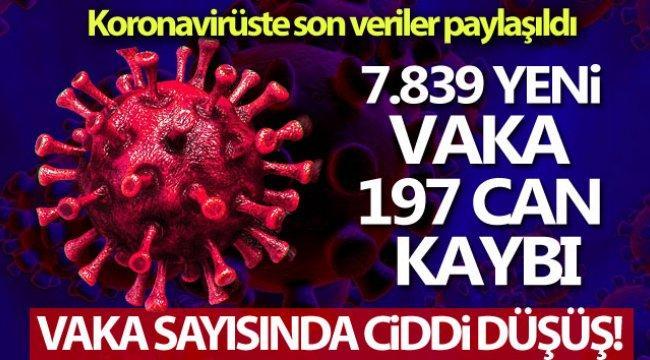 Koronavirüste son durum ne? Vaka sayıları açıklandı