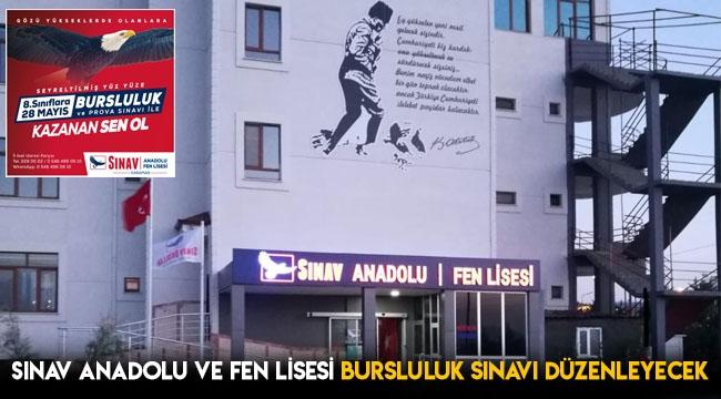 Sınav Anadolu ve Fen Lisesi Bursluluk Sınavı Düzenleyecek