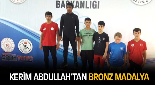 KERİM ABDULLAH'TAN BRONZ MADALYA