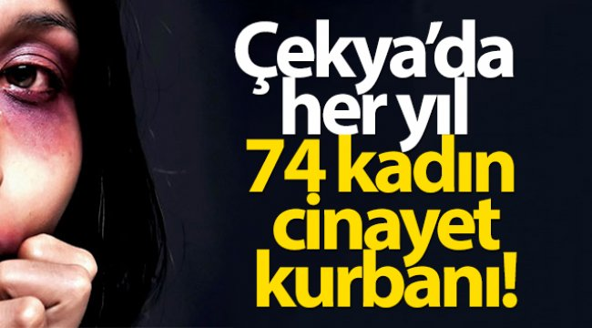 Çekya'da her yıl 74 kadın, cinayet kurbanı