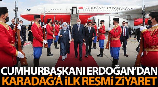 Cumhurbaşkanı Erdoğan'dan Karadağ'a ilk resmi ziyaret