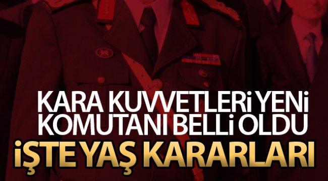 Cumhurbaşkanı Erdoğan, YAŞ kararlarını imzaladı
