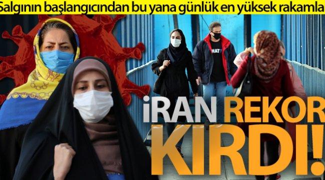 İran'da korona virüs salgınında rekor