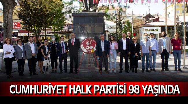 Cumhuriyet Halk Partisi 98 yaşında !