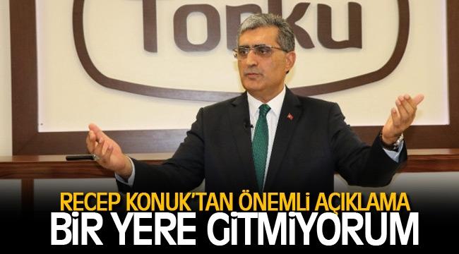 PANKOBİRLİK Başkanı Recep Konuk'tan önemli açıklama