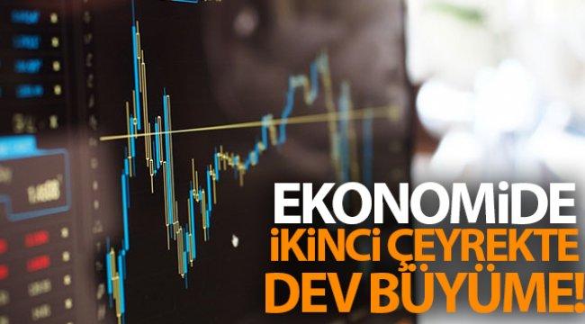Türkiye ikinci çeyrekte yüzde 21,7 büyüdü