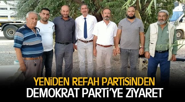 Yeniden Refah Partisi  Demokrat Parti'ye ziyaret